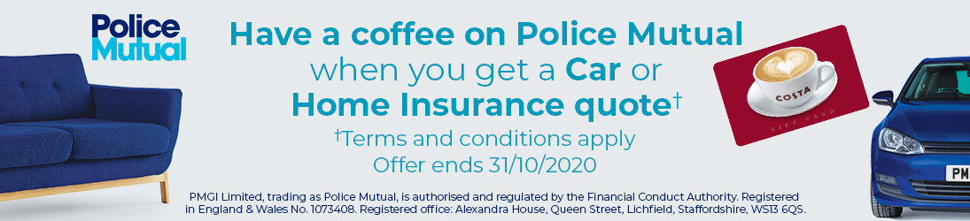 Police Mutual Coffee Offer. Find out more...