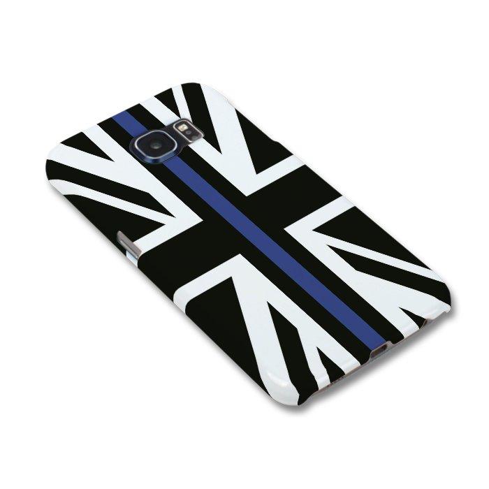 uk availability df07e 949ad Thin Blue Line Flag Mobile Phone Case