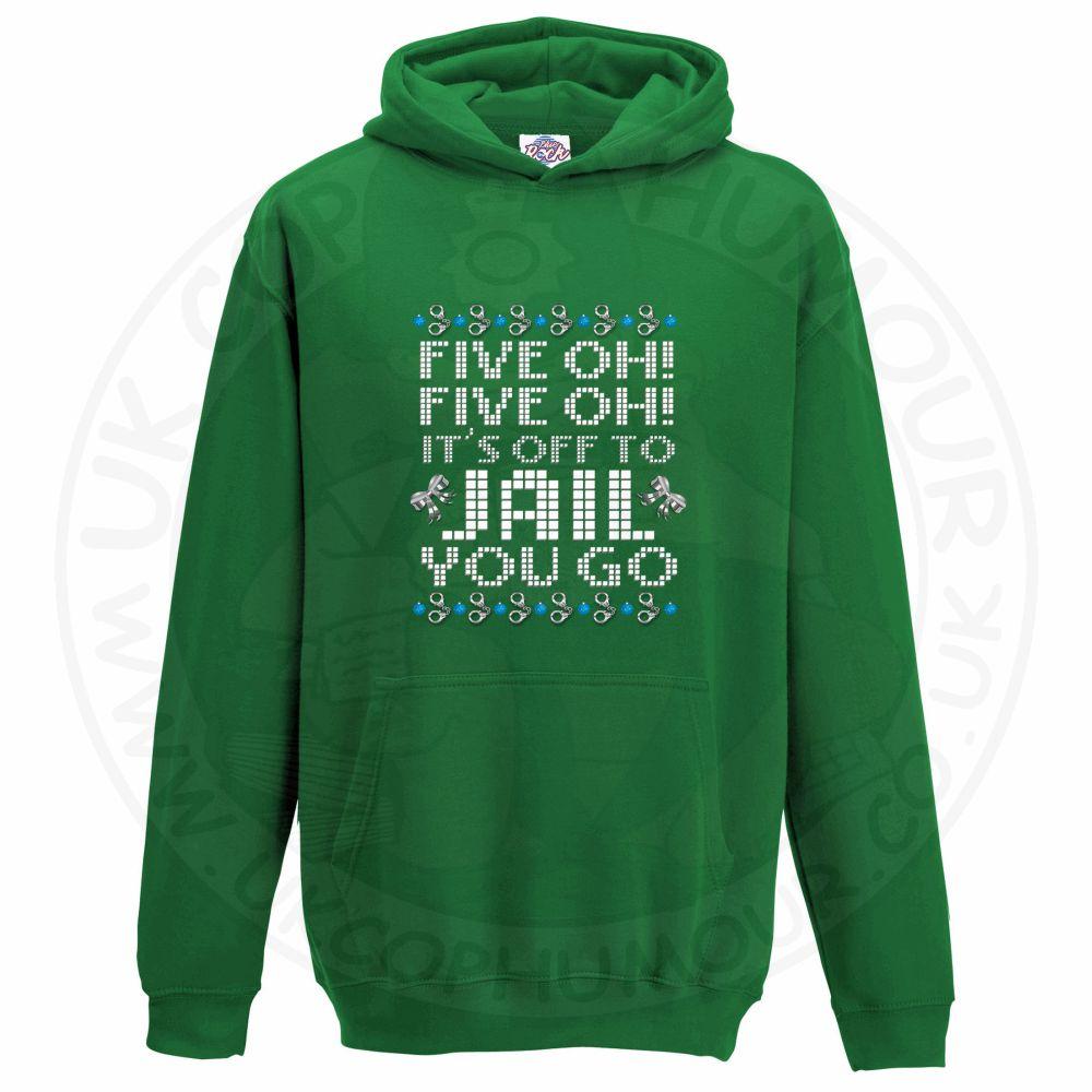Kids Five OH Five OH Hoodie - Kelly Green, 12-13 Years
