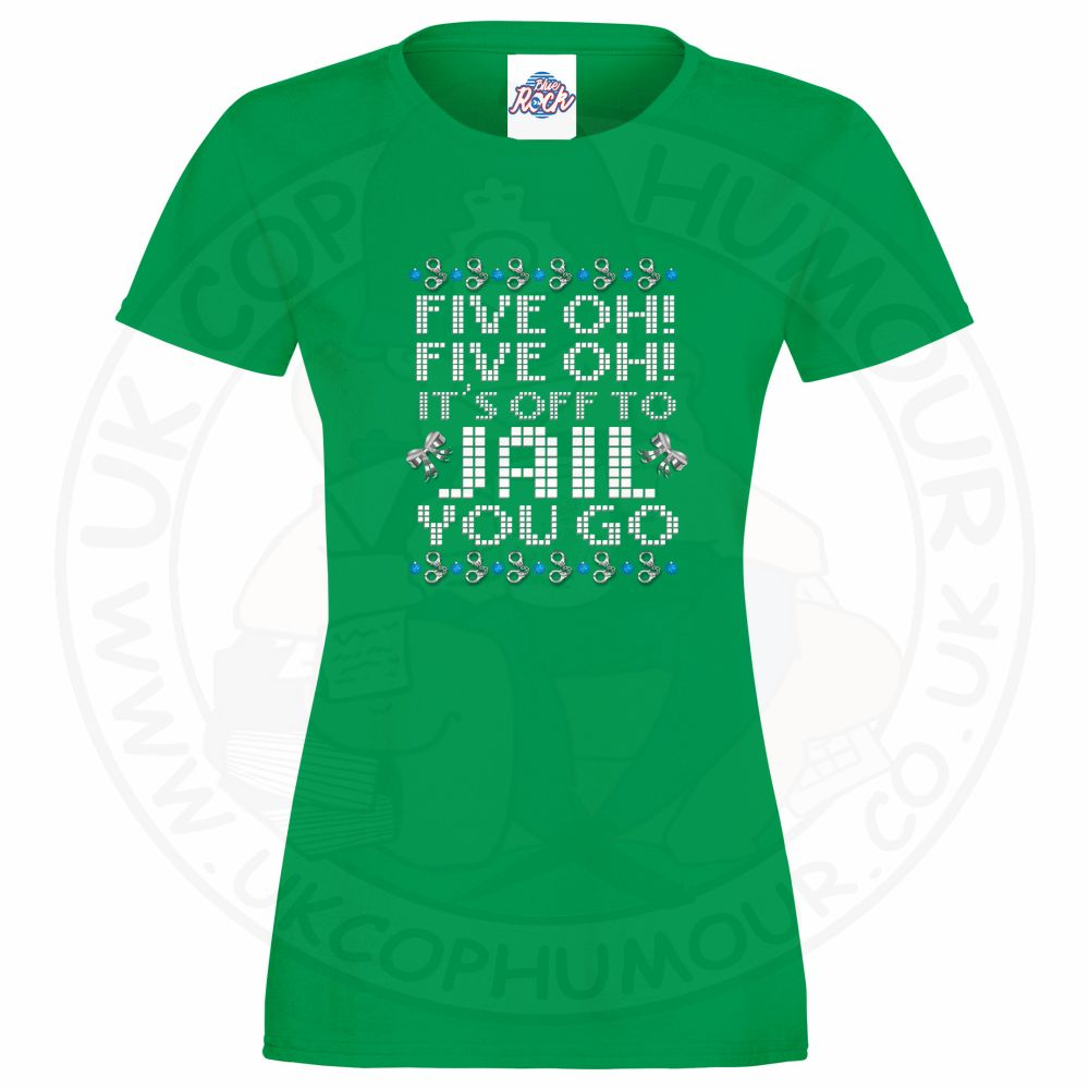 Ladies Five OH Five OH T-Shirt - Kelly Green, 18