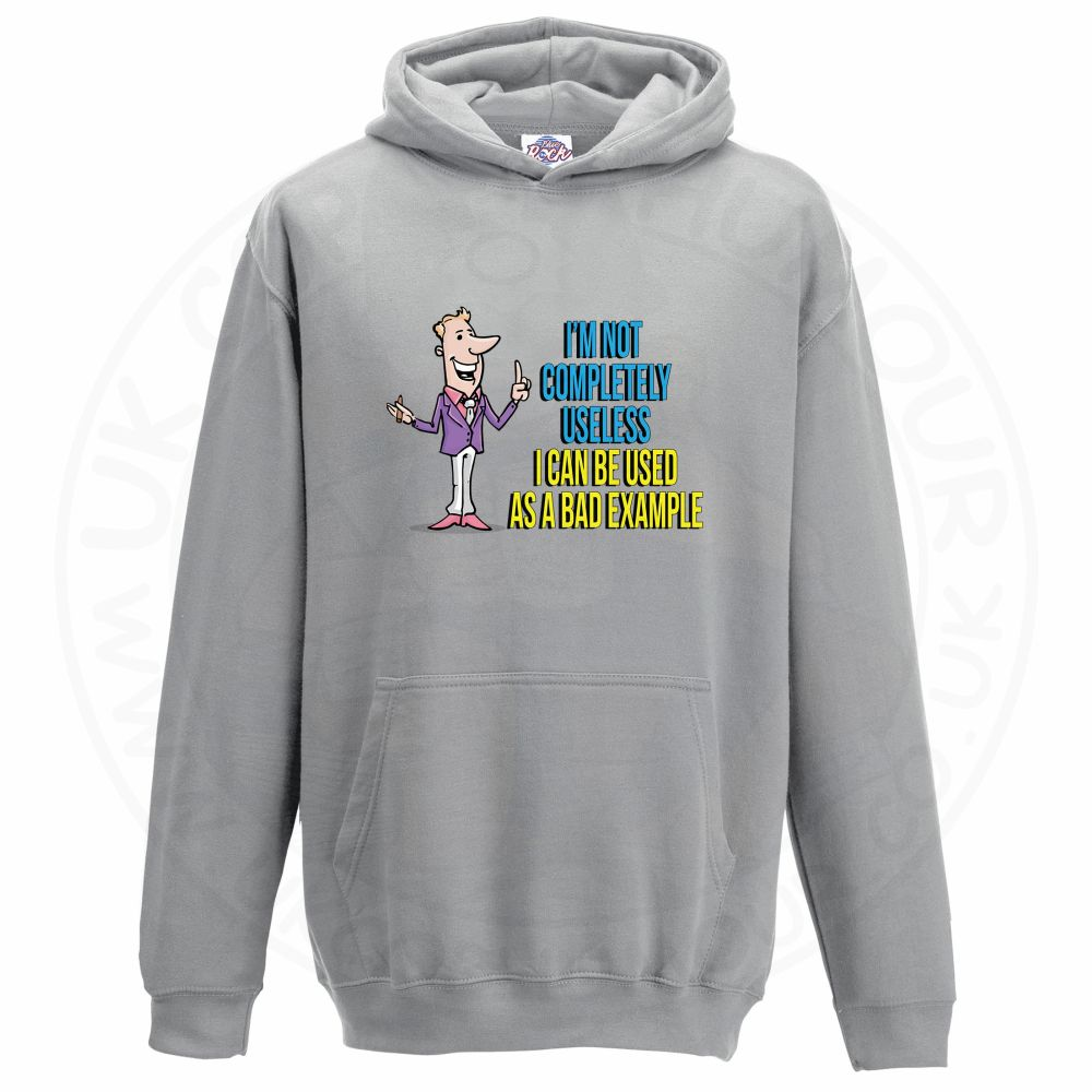 Kids NOT COMPLETELY USELESS Hoodie - Grey, 12-13 Years