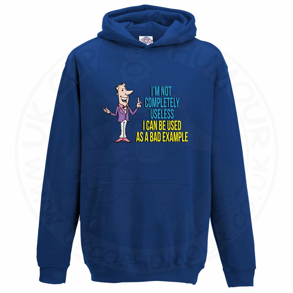 Kids NOT COMPLETELY USELESS Hoodie - Royal Blue, 12-13 Years