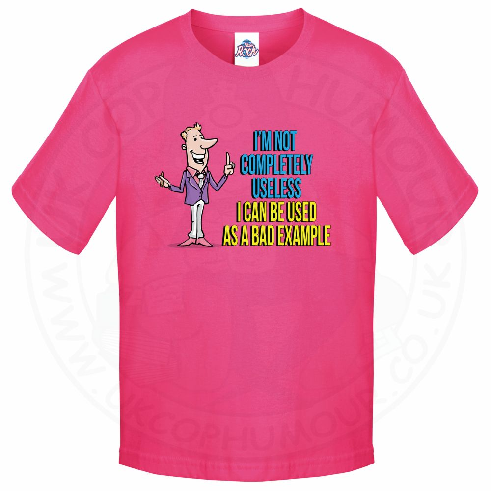 Kids NOT COMPLETELY USELESS T-Shirt - Pink, 12-13 Years
