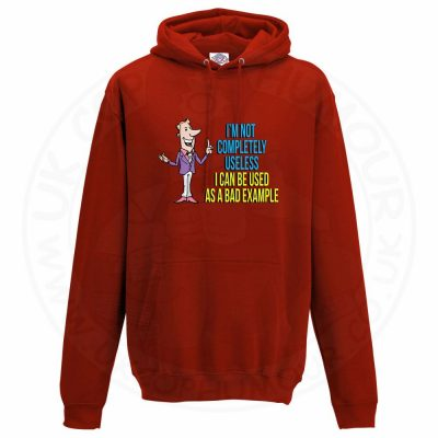 Unisex NOT COMPLETELY USELESS Hoodie - Red, 3XL