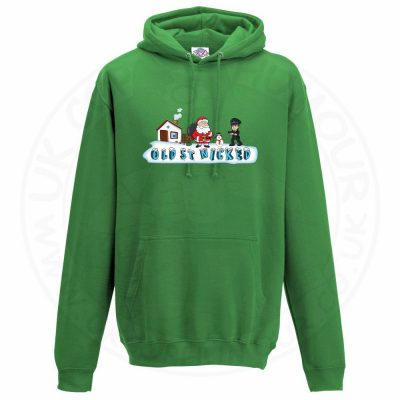 Unisex OLD ST NICKED Hoodie - Kelly Green, 2XL