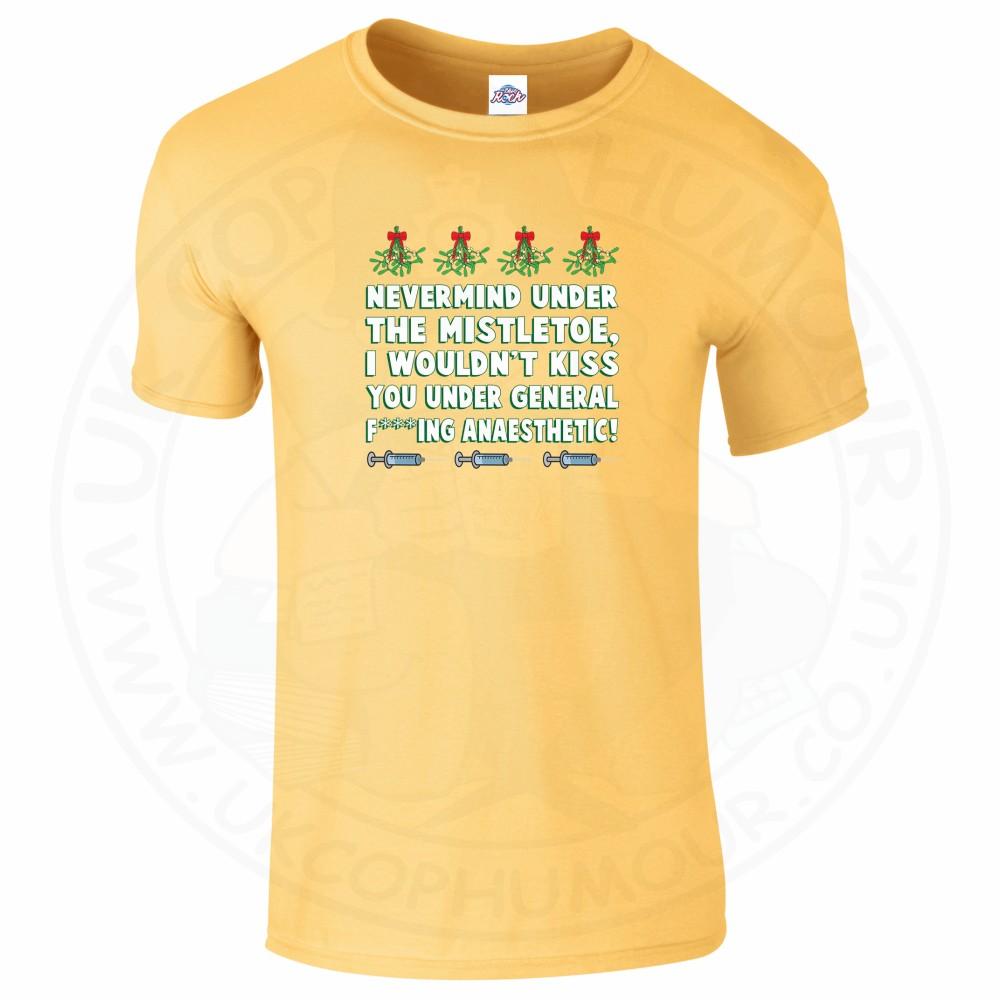 Mens MISTLETOE ANAESTHETIC T-Shirt - Daisy, 2XL
