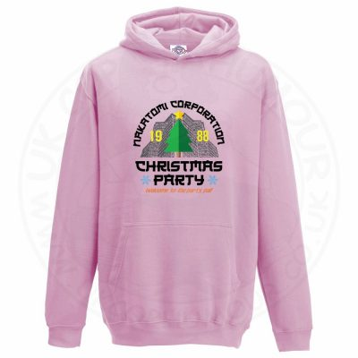 Kids NAKATOMI CORP CHRISTMAS Hoodie - Baby Pink, 12-13 Years