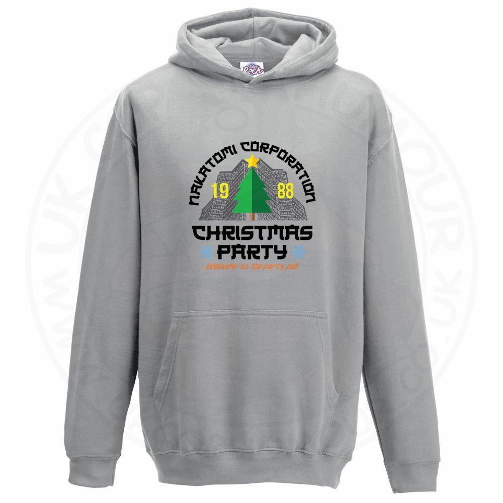 Kids NAKATOMI CORP CHRISTMAS Hoodie - Grey, 12-13 Years