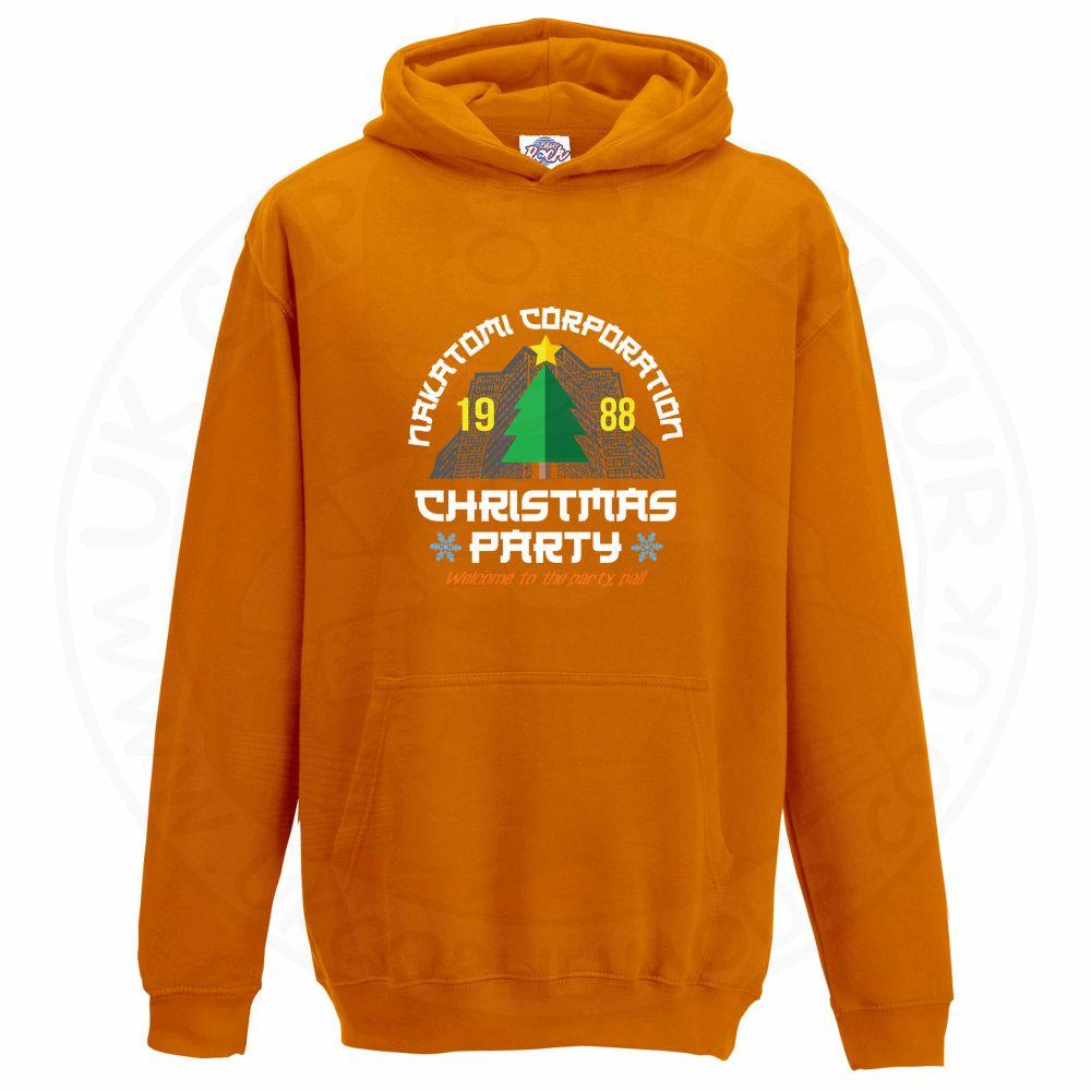 Kids NAKATOMI CORP CHRISTMAS Hoodie - Orange, 12-13 Years