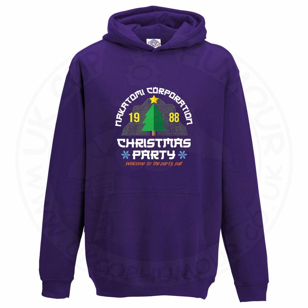 Kids NAKATOMI CORP CHRISTMAS Hoodie - Purple, 12-13 Years