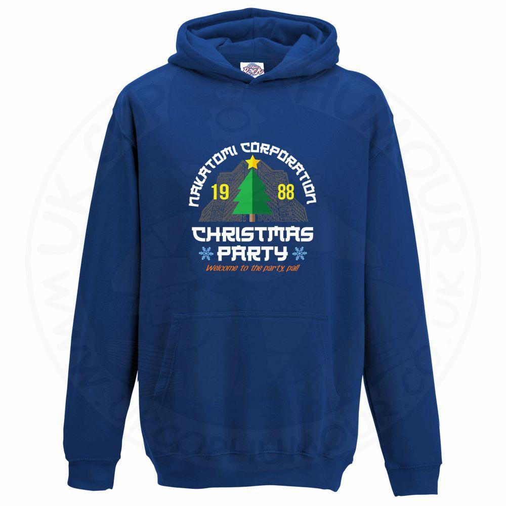 Kids NAKATOMI CORP CHRISTMAS Hoodie - Royal Blue, 12-13 Years