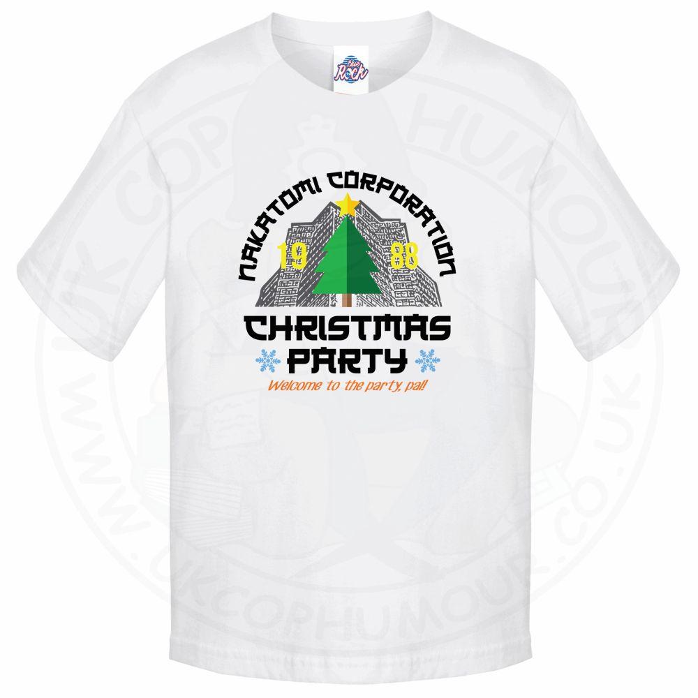 Kids NAKATOMI CORP CHRISTMAS T-Shirt - White, 12-13 Years