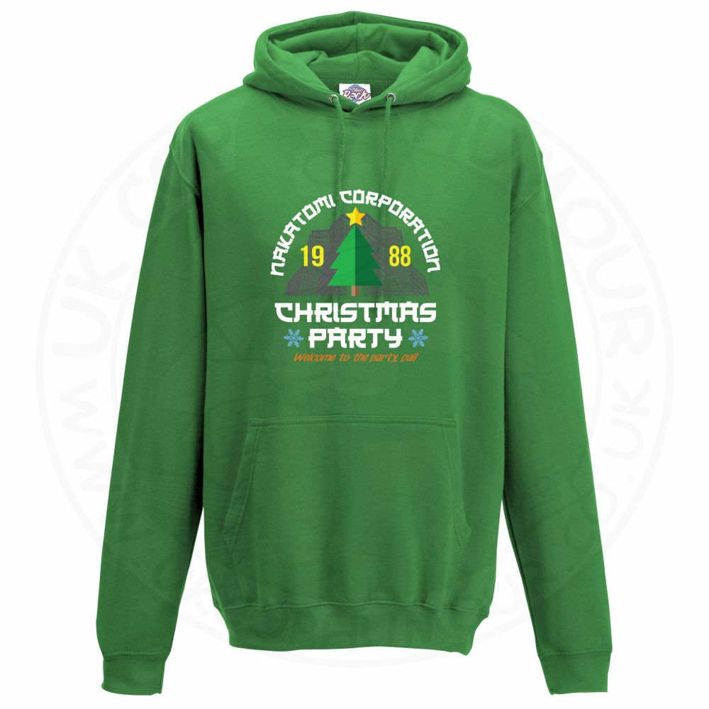 Unisex NAKATOMI CORP CHRISTMAS Hoodie - Kelly Green, 2XL