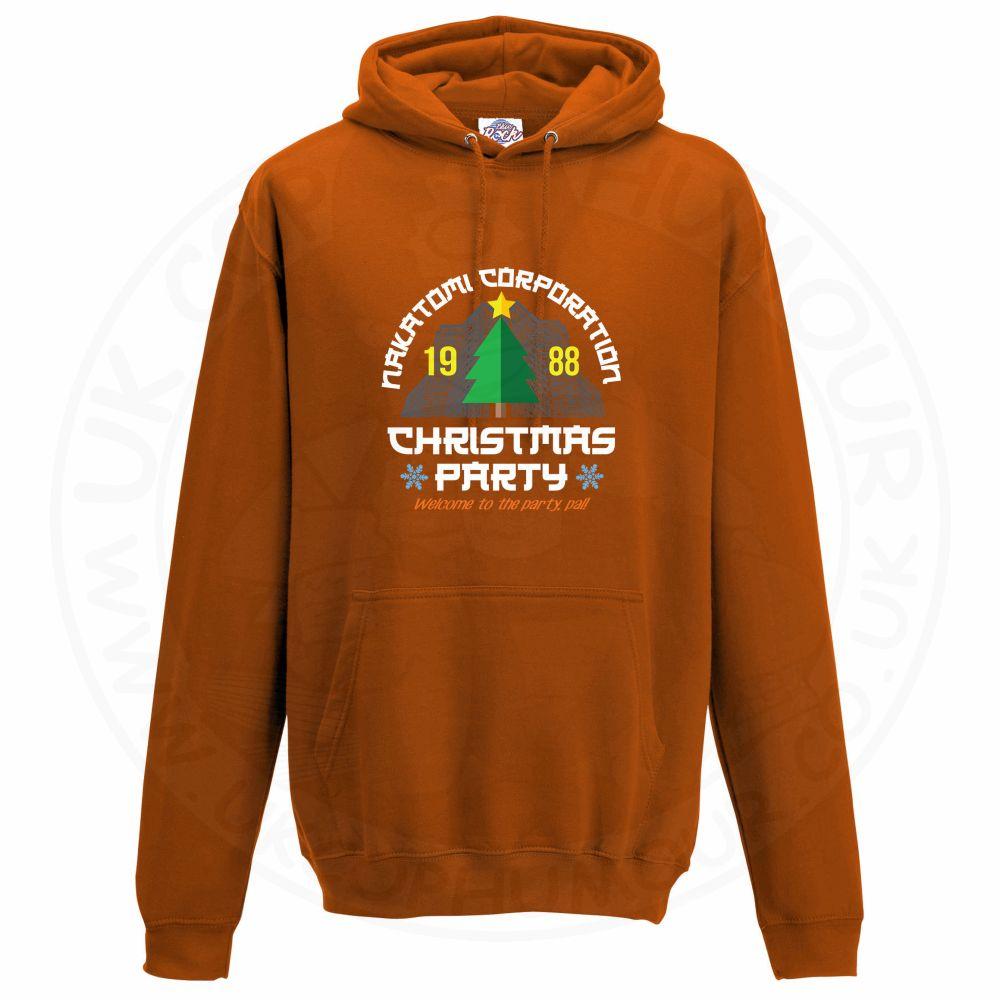 Unisex NAKATOMI CORP CHRISTMAS Hoodie - Orange, 2XL