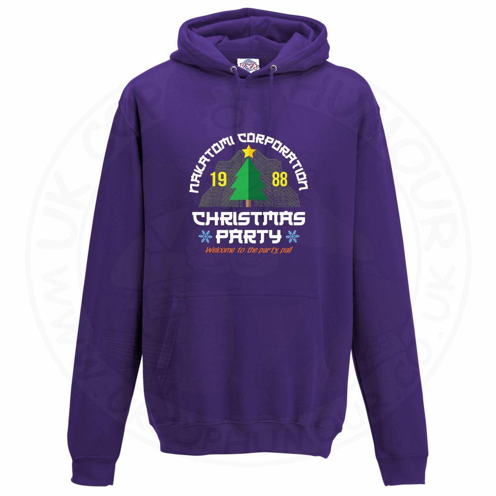 Unisex NAKATOMI CORP CHRISTMAS Hoodie - Purple, 3XL