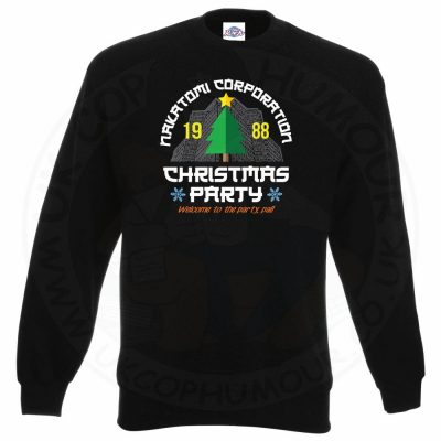 NAKATOMI CORP CHRISTMAS Sweatshirt - Black, 3XL