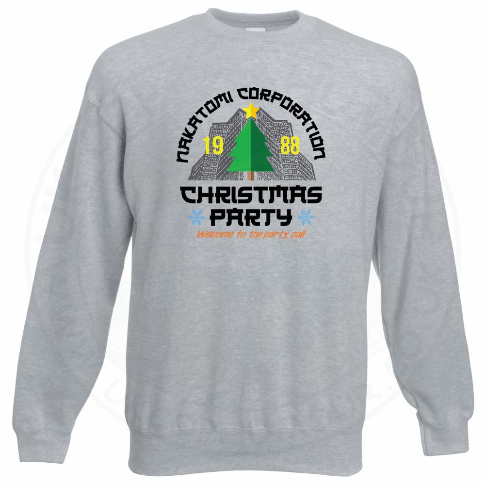 NAKATOMI CORP CHRISTMAS Sweatshirt - Grey, 3XL