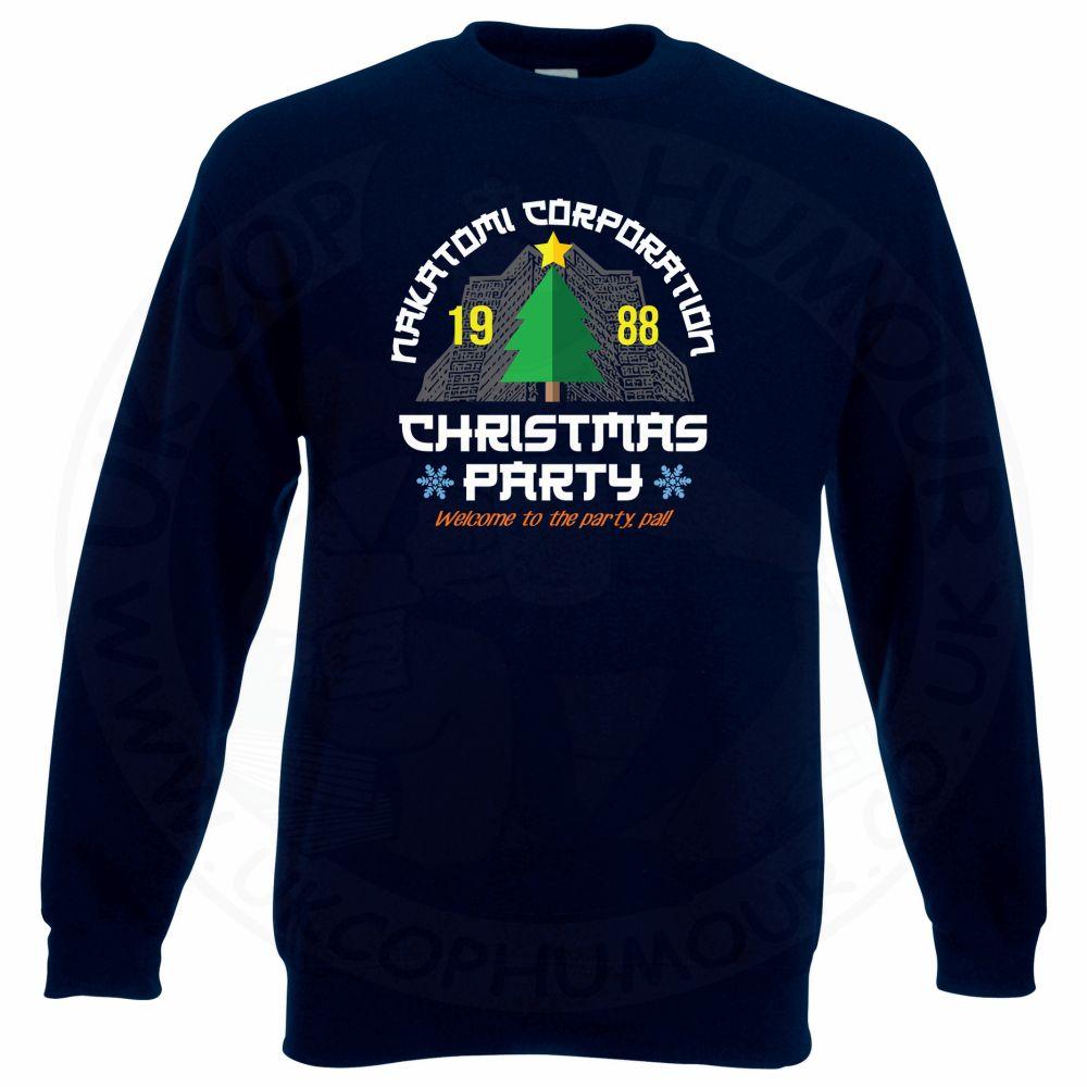 NAKATOMI CORP CHRISTMAS Sweatshirt - Navy, 3XL