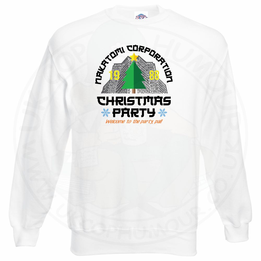 NAKATOMI CORP CHRISTMAS Sweatshirt - White, 3XL