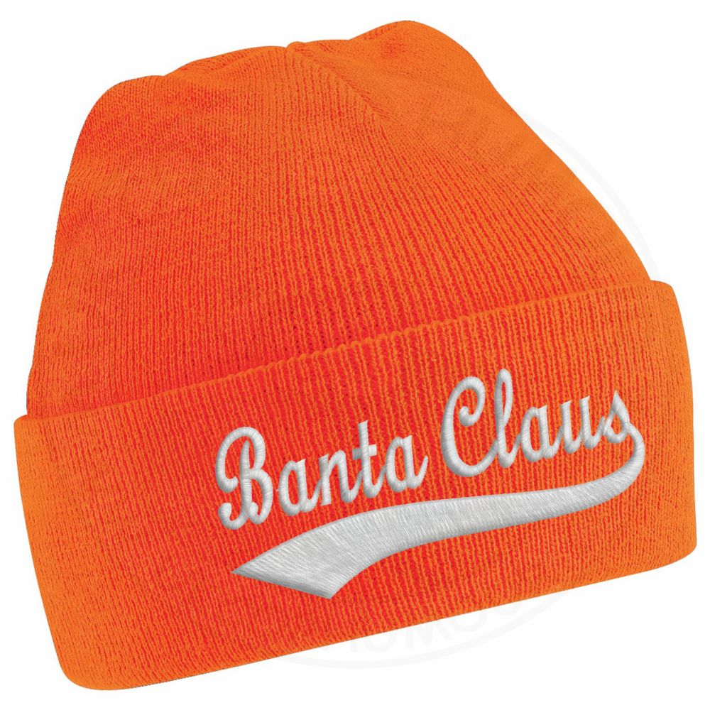 BANTA CLAUS Beanie - Orange