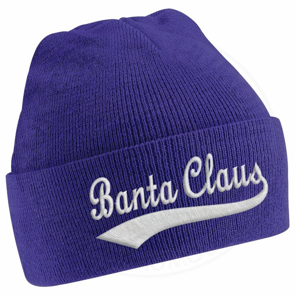 BANTA CLAUS Beanie - Purple