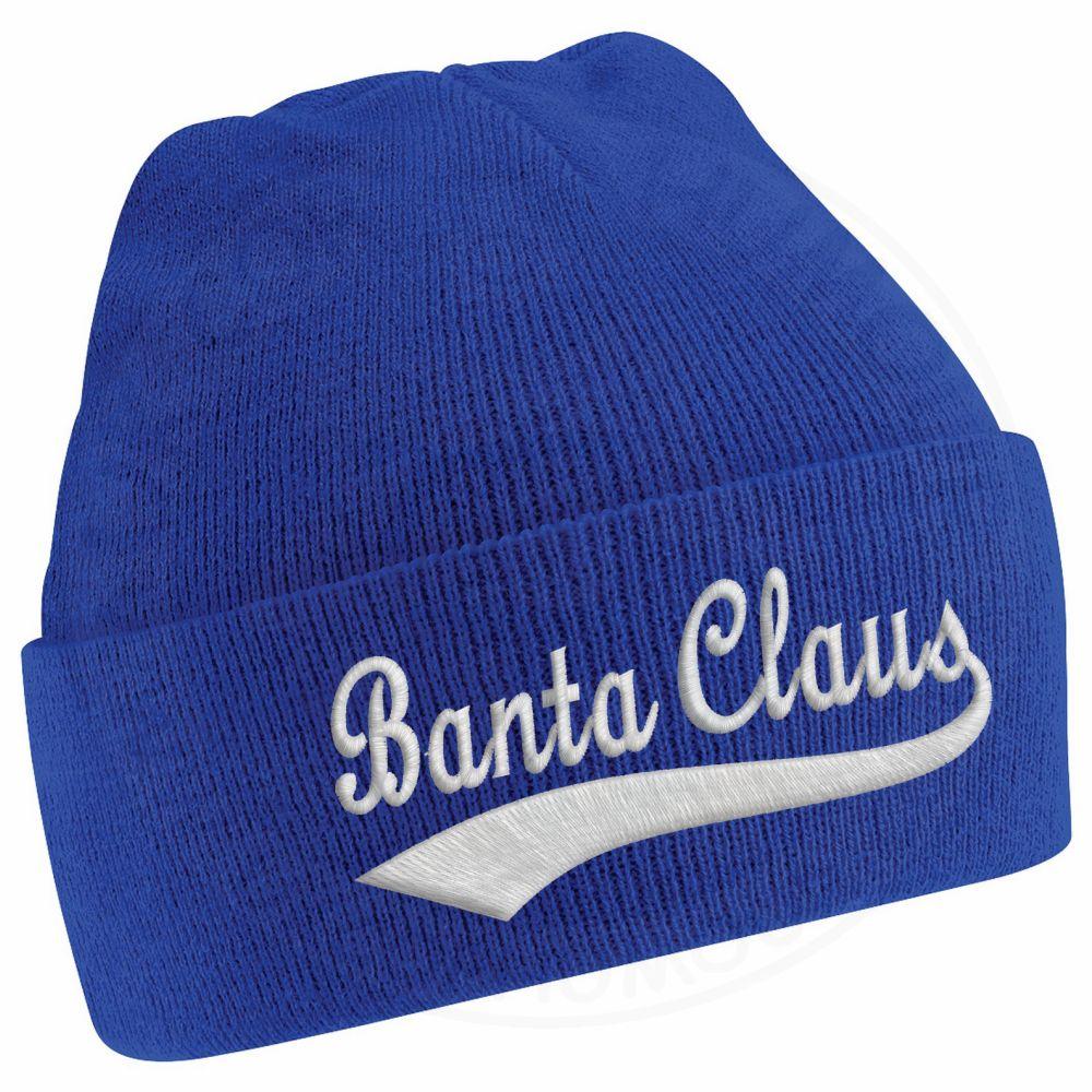 BANTA CLAUS Beanie - Royal Blue