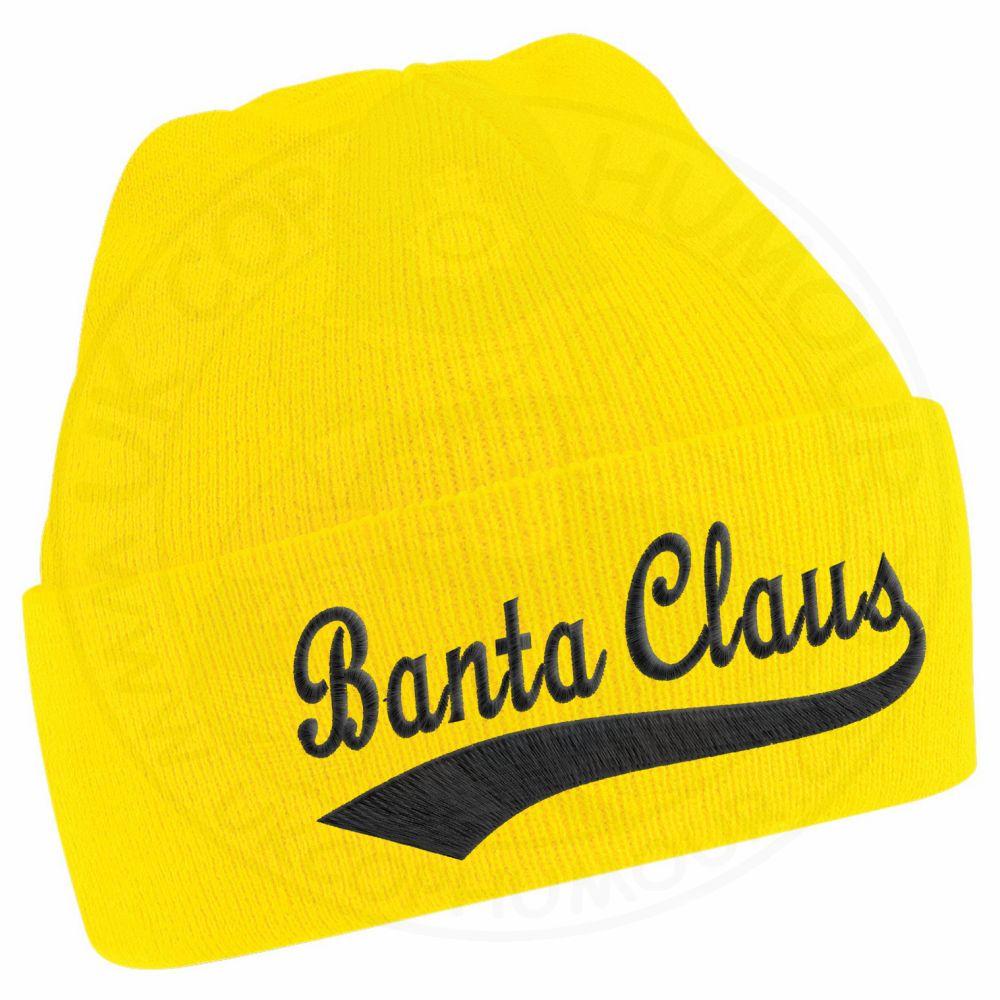 BANTA CLAUS Beanie - Yellow