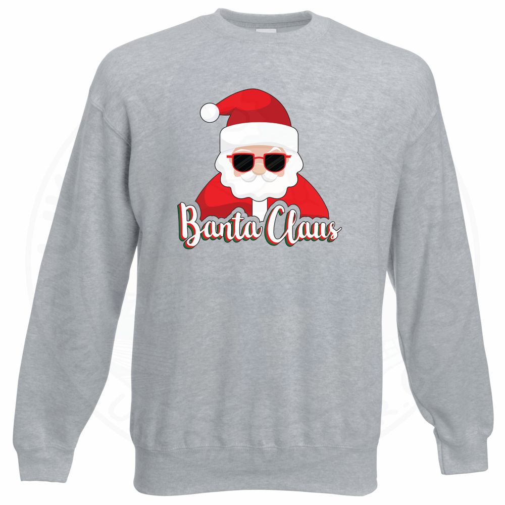 BANTA CLAUS Sweatshirt - Grey, 3XL