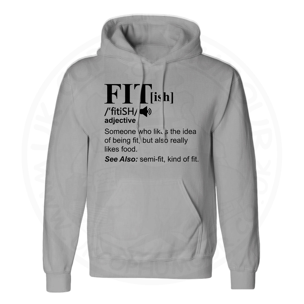 Unisex FIT[ish] Definition Hoodie - Charcoal, 2XL