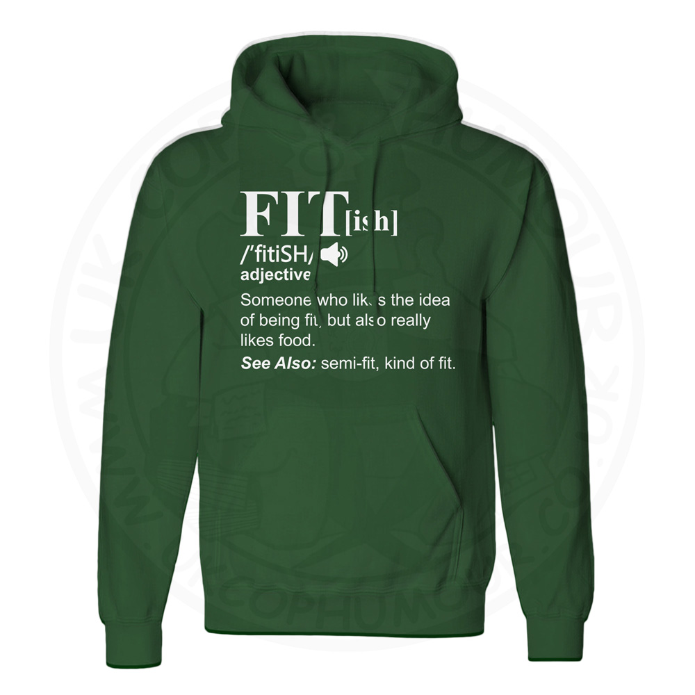 Unisex FIT[ish] Definition Hoodie - Forest Green, 2XL