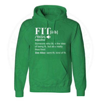 Unisex FIT[ish] Definition Hoodie - Kelly Green, 2XL