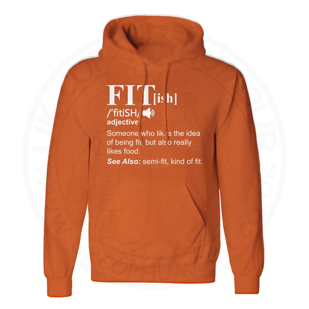Unisex FIT[ish] Definition Hoodie - Orange, 2XL