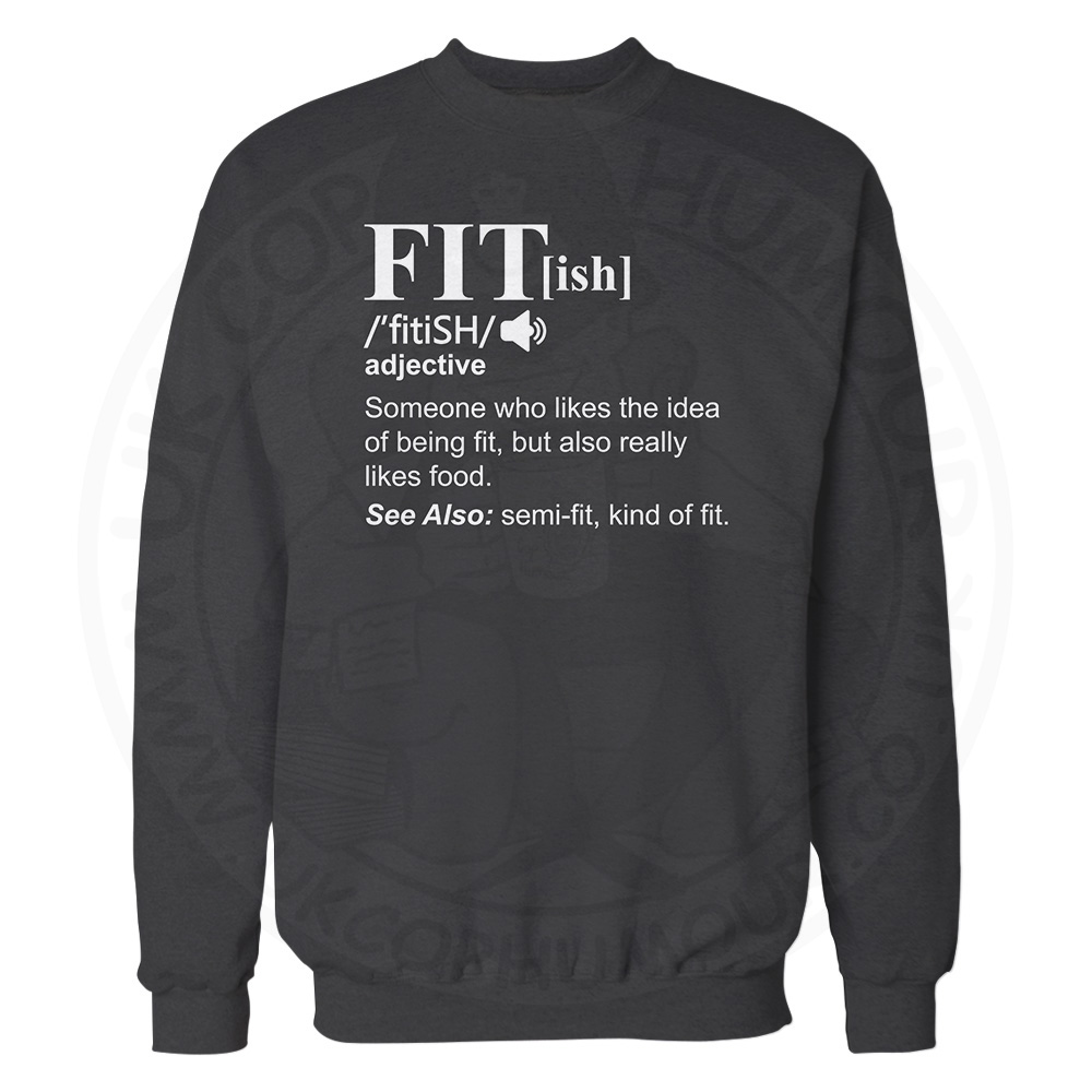 FIT[ish] Definition Sweatshirt - Black, 3XL