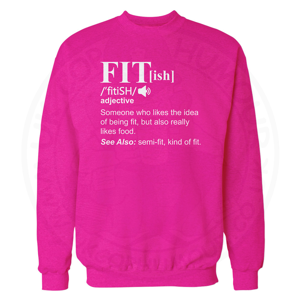 FIT[ish] Definition Sweatshirt - Candy Floss Pink, 2XL