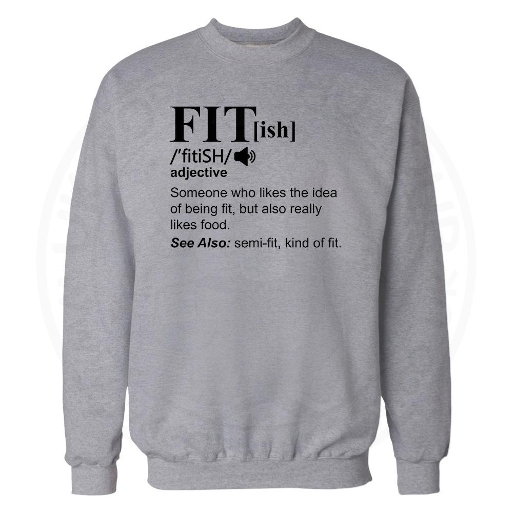 FIT[ish] Definition Sweatshirt - Grey, 3XL