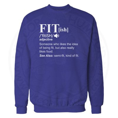 FIT[ish] Definition Sweatshirt - Royal Blue, 2XL