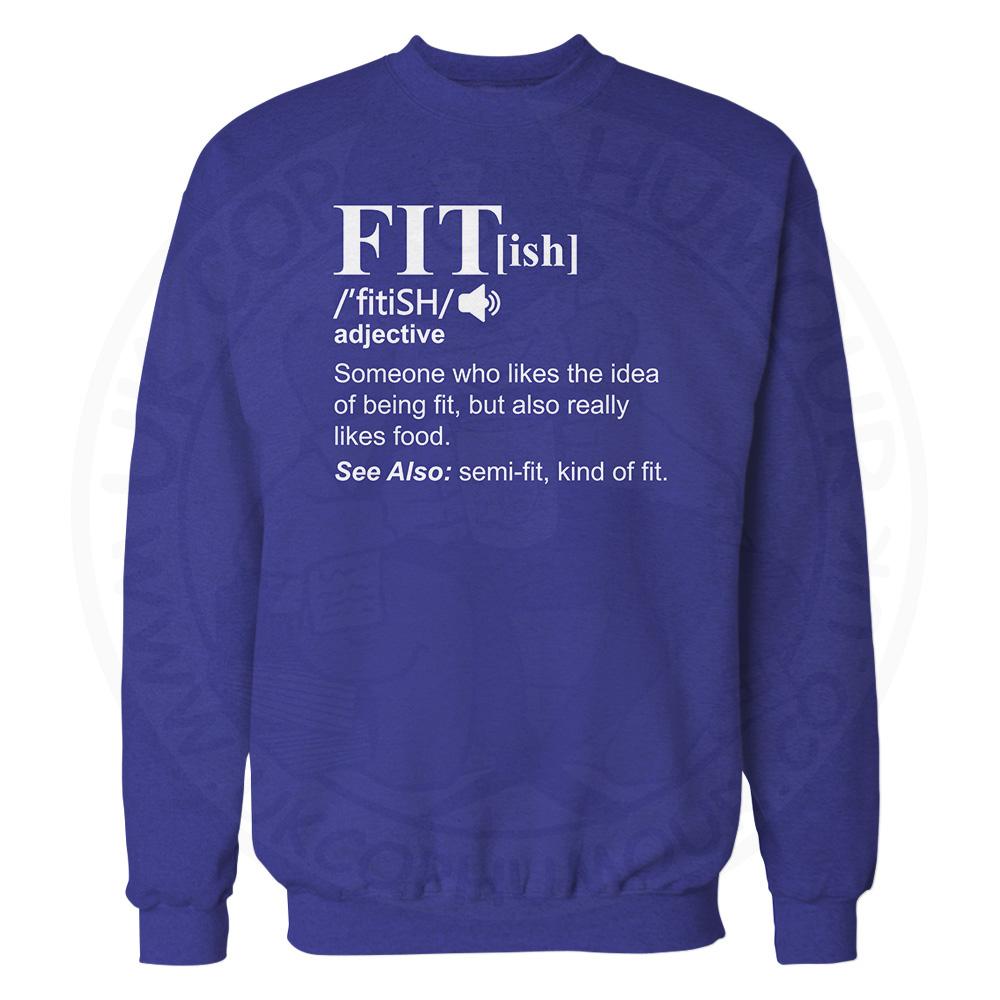 FIT[ish] Definition Sweatshirt - Royal Blue, 2XL