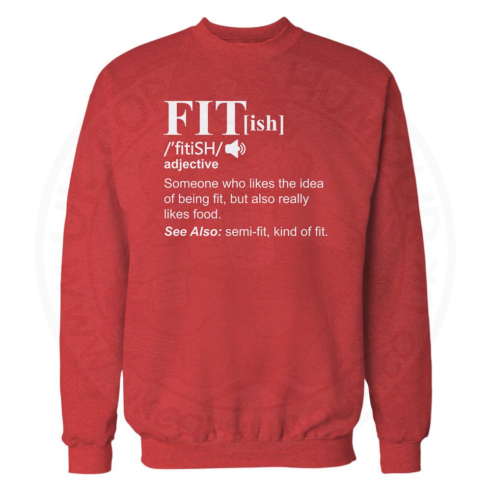 FIT[ish] Definition Sweatshirt - Red, 2XL