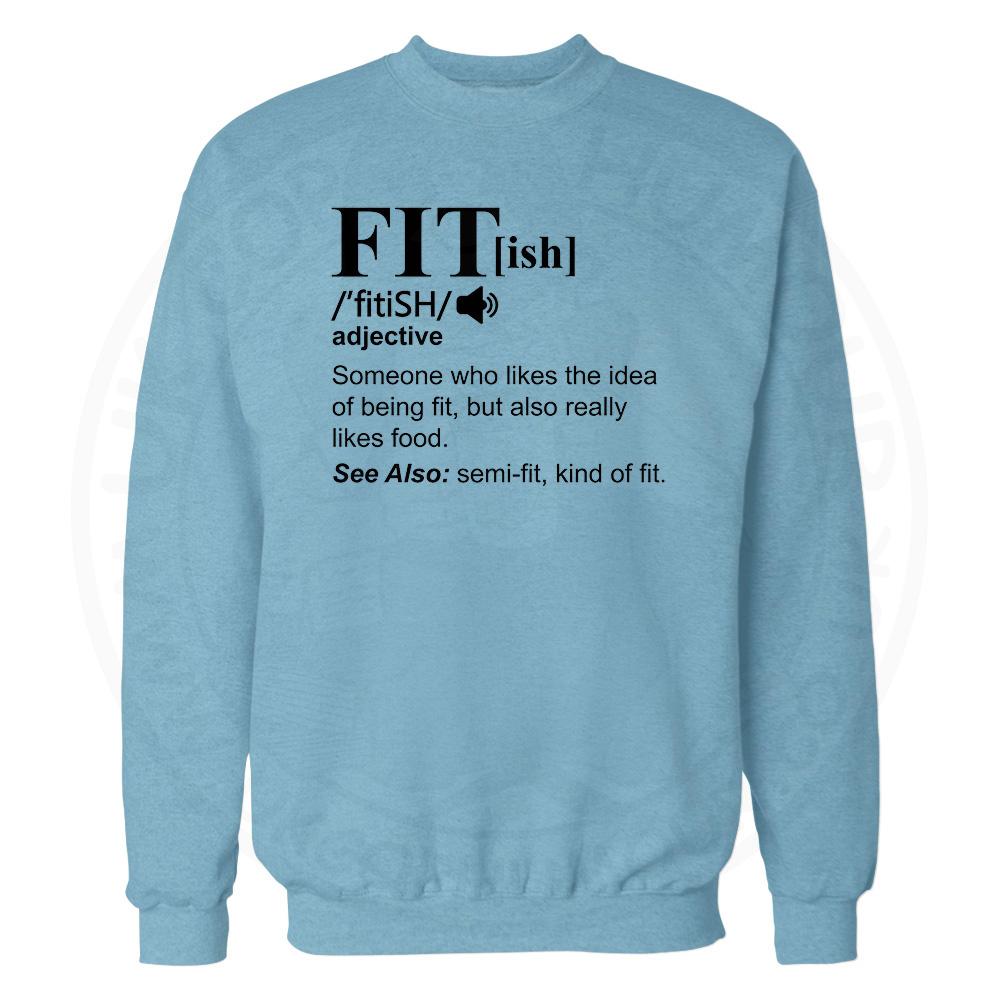 FIT[ish] Definition Sweatshirt - Sky Blue, 2XL