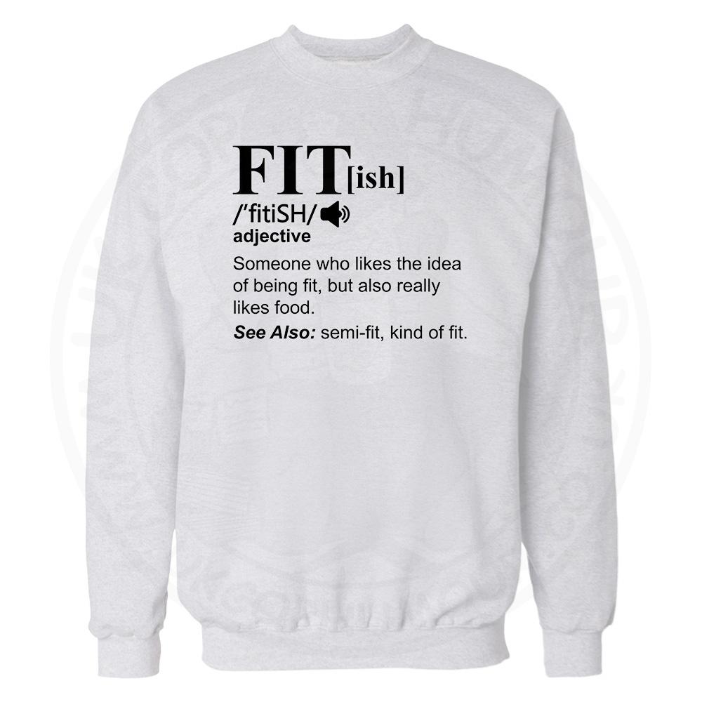 FIT[ish] Definition Sweatshirt - White, 3XL