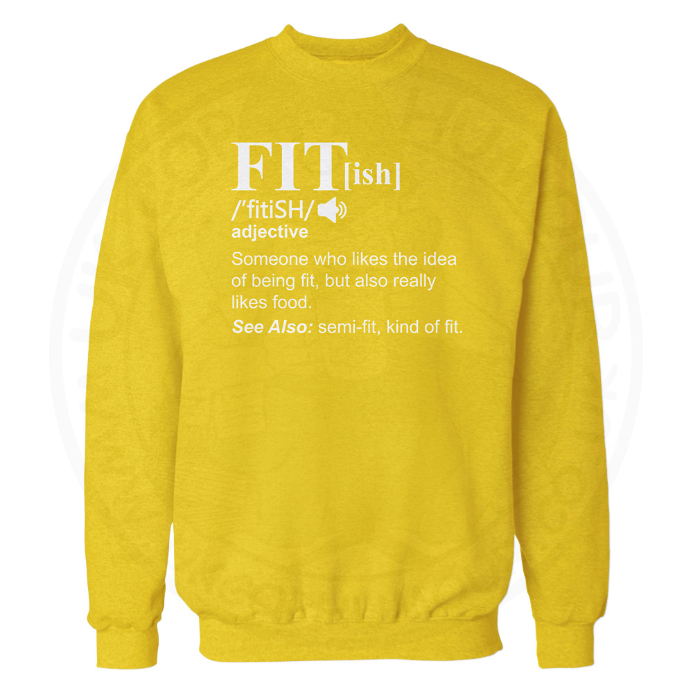 FIT[ish] Definition Sweatshirt - Yellow, 2XL