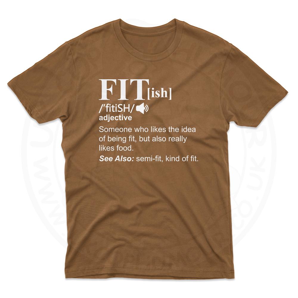 Mens FIT[ish] Definition T-Shirt - Chestnut, 2XL