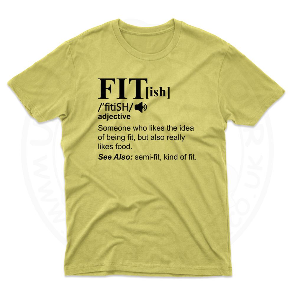 Mens FIT[ish] Definition T-Shirt - Daisy, 2XL