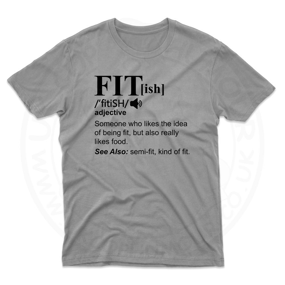 Mens FIT[ish] Definition T-Shirt - Grey, 5XL