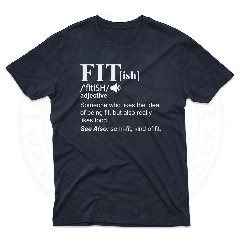 Mens FIT[ish] Definition T-Shirt - Navy, 5XL
