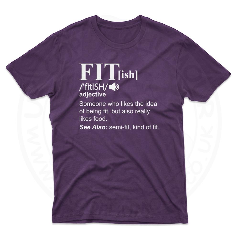 Mens FIT[ish] Definition T-Shirt - Purple, 2XL