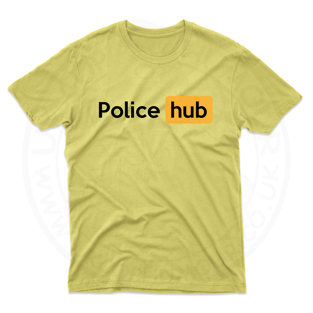 Mens Police Hub T-Shirt - Daisy, 2XL