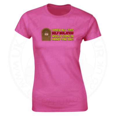 Ladies Self Isolation T-Shirt - Pink, 18
