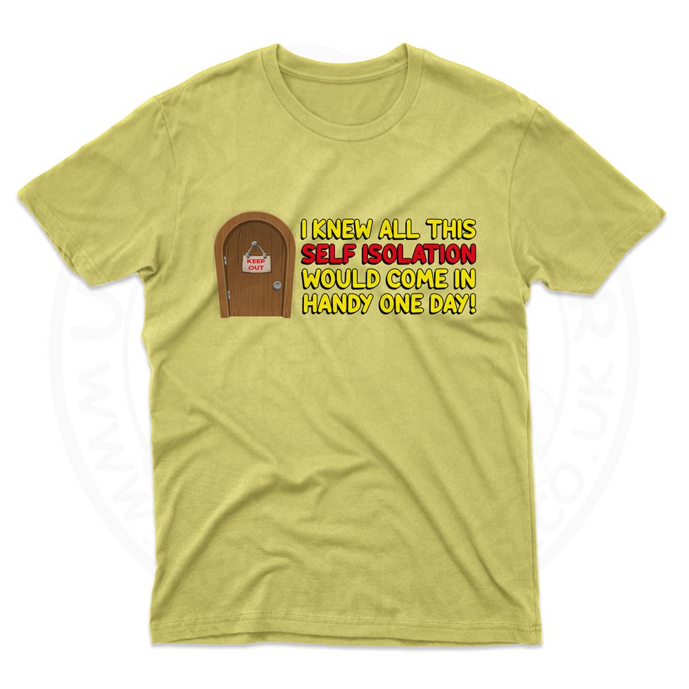 Mens Self Isolation T-Shirt - Daisy, 2XL