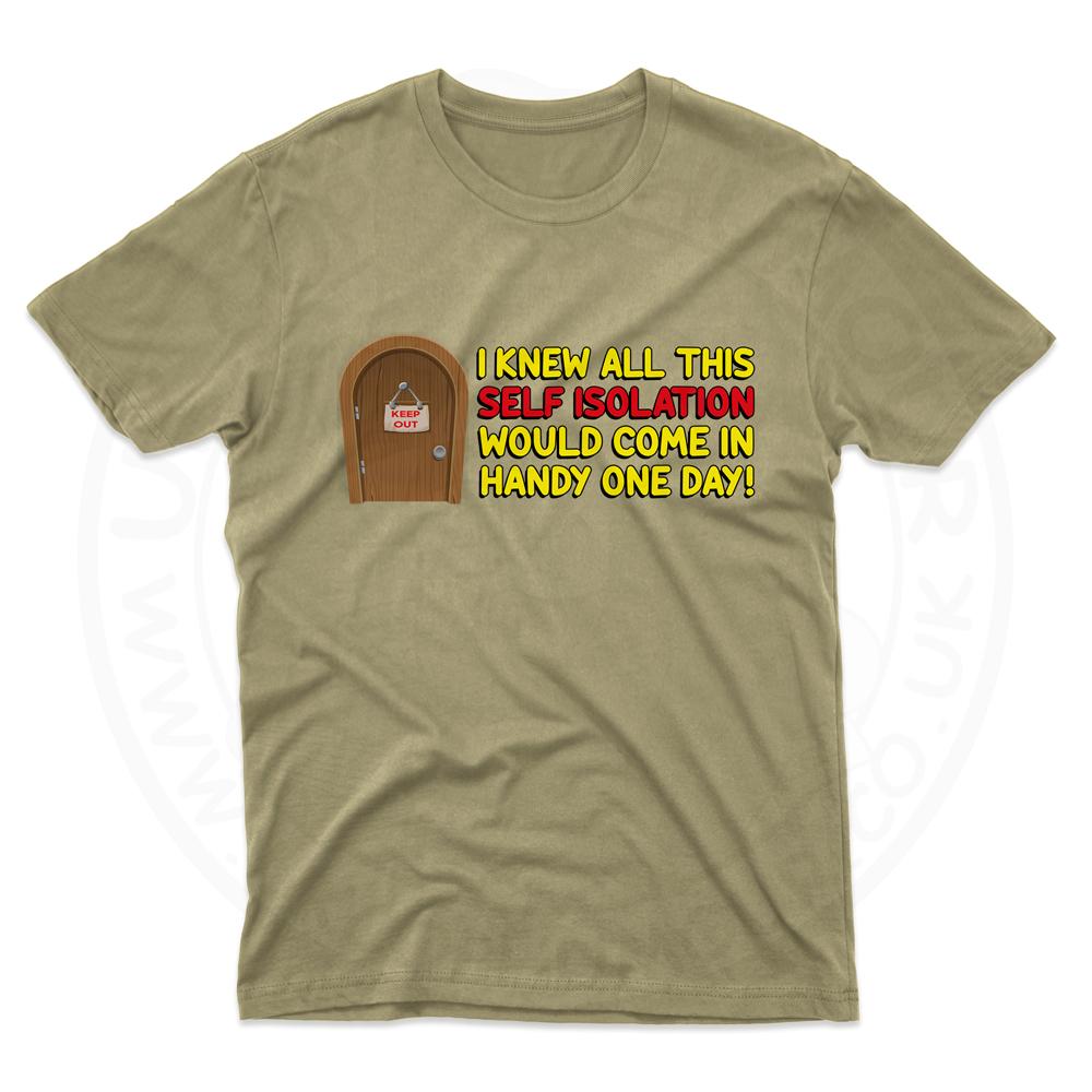 Mens Self Isolation T-Shirt - Desert, 2XL